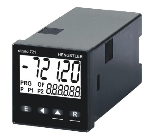 Foto do produto Contador Eletrônico Hengstler Signo 721